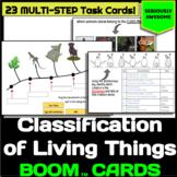Classification of Living Organisms Boom Cards- Digital Int