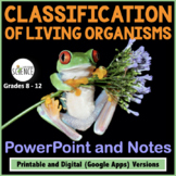 Classification Powerpoint and Notes   Printable and Digital Distance Learning