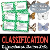 Classification of Living Things Student-Led Station Lab