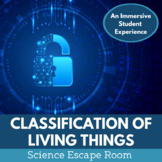 Classification of Living Things Escape Room