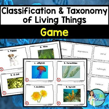 Classification & Taxonomy of Living Things Game