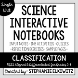 Classification of Living Things Interactive Notebook Unit