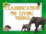 Animal Classification of Living Things PowerPoint and Inte