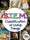 Classification of Living Things  STEM Inquiry Lab Activity
