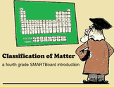 Classification of Matter - A Fourth Grade SMARTBoard Introduction