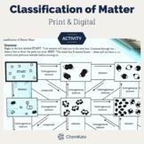 Classification of Matter Activity Mazes   Digital Resource