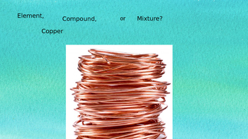 Classification of Matter PowerPoint