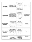 Classification of Matter Sort