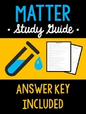 Classification of Matter Study Guide