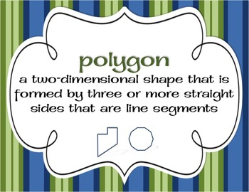 Classification of Polygons (Triangles and Quadrilaterals)