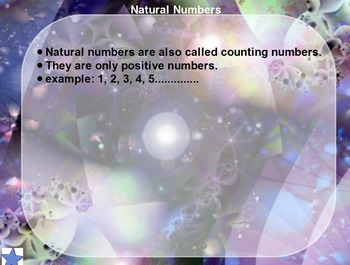 Classification of Real Numbers (Promethean Flipchart)