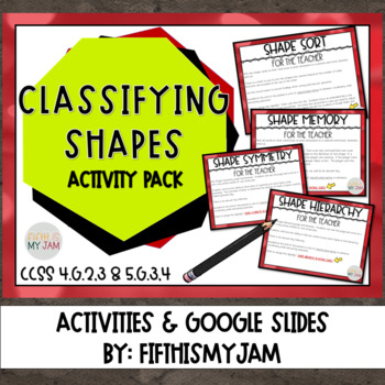 Classification of Shapes