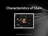 Solar System: Characteristics of Stars PowerPoint Presentation