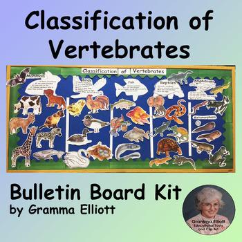 Bulletin Board Kit - Classification of Vertebrates - Easy Prep