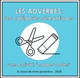 Classifier les adverbes - une activité 'couper-coller'