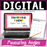 Measuring Angles Digital Task Cards for Google Classroom