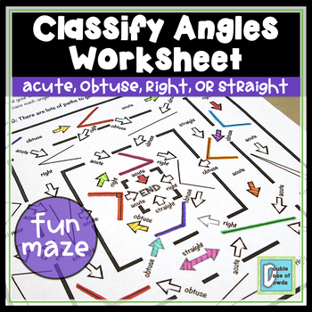 Classify Angles Maze