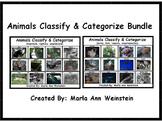 Animals Classify & Categorize Bundle