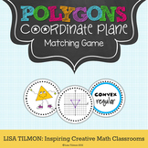 Polygons in the Coordinate Plane Matching Game