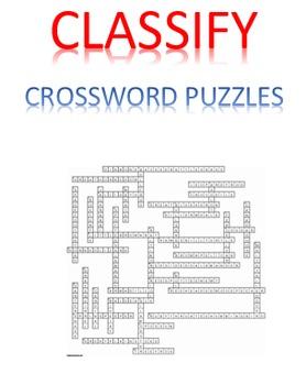 Classify Crossword Puzzles
