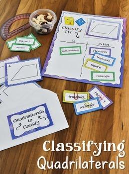 Classifying Quadrilaterals | Sorting Activities, Games ...