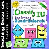 Classifying Quadrilaterals | Sorting Activities, Games, Pr