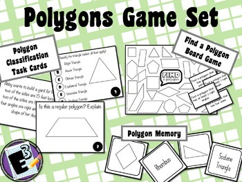 Classify Polygons Games