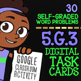 Classify Polygons Task Cards ★ 2D Shapes Activity for Google Classroom ★ 5.G.3