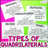 Classify Quadrilaterals and Triangles Interactive Mobile