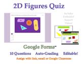 Classify Quadrilaterals & Triangles Quiz (5.G.B.3 / 5.G.B.