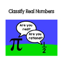 Classify Real Numbers Practice
