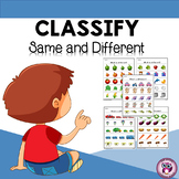 Classify (Same and Different)