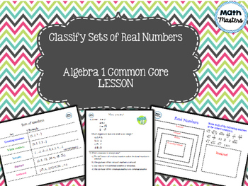 Classify Sets of Real Numbers