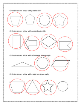 Classify Shapes by Sides or Angles
