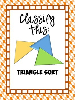 Classify This: Triangle Sort