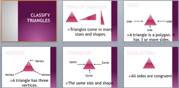 Classify Triangles PowerPoint