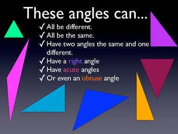 Classify Triangles Presentation