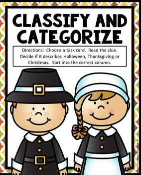 Classify and Categorize