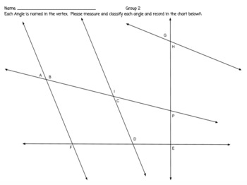 Classify and Measure Angles