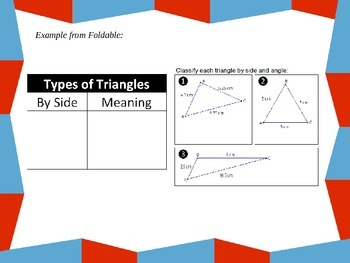 Classify and Measure Triangles
