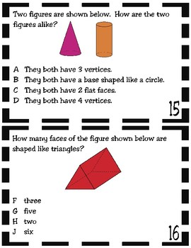 Classify and Sort 3D Solids (TEKS 2.8B)