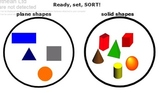 Classify and Sort Solid Shapes
