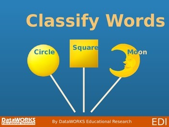 Classify Words