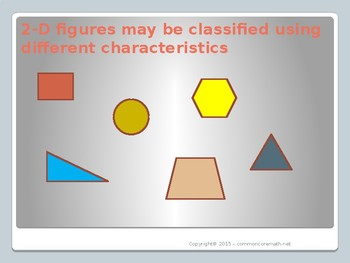 Classifying 2-D Objects, Interactive PowerPoint - 4.G.2