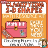 Classifying 2-D Shapes by their lines and angles with Digi