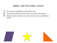 Classifying 2-D shapes ( ENGLISH )