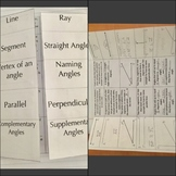 Classifying 2D Figures Bundle, Interactive Notebook Entries, Practice, & Games