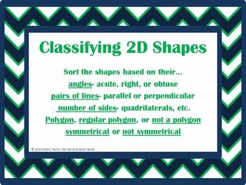 Classifying 2D Shapes 4.6D
