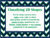 Classifying 2D Shapes 4.6D