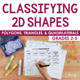 Classifying 2D Shapes-Polygons,Triangles, & Quadrilaterals, Oh My!